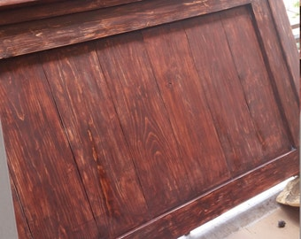 Rustic Farmhouse Headboard