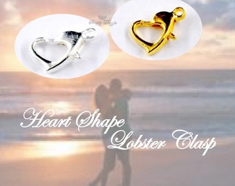 Heart Shape Lobster Clasp Upgrade –Personalize