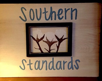 Southern standards home decor