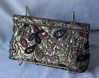 Beautiful Beaded Clutch Bag #275