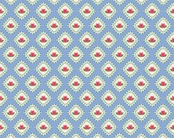 Riley Blake Designs Floribella Blue Tulip by  Emily Taylor Designs C 4323
