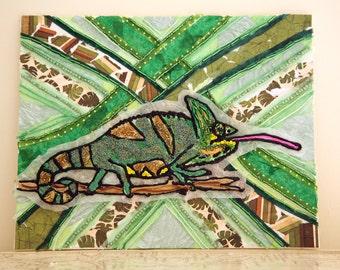 Beady Chameleon