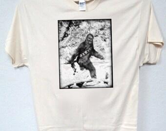 STAR WARS Bigfoot Chubaka Inspired, T-Shirt,T-804Ivy