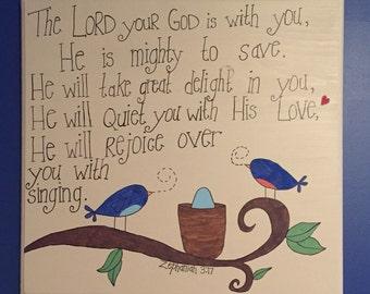 Nursery Bible Verse