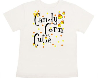 Candy Corn Cutie Iron On transfer Personalized shirt DIY Digital Candy Corn Cutie transfer