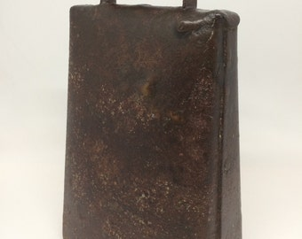 Antique Cowbell with Superb Patina!
