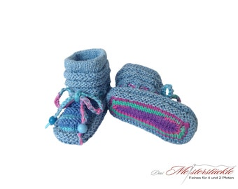 hand knitted baby shoes summer boots first shoes