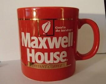 Maxwell Coffee advertising Mug