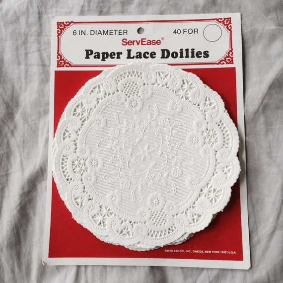 paper lace doilies for sale Shop for doilies for sale on etsy 100 ivory 55 paper lace doilies, closeout sale thepackagehouse 5 out of 5 stars (5,135) $ 450 $ 500 (10% off.