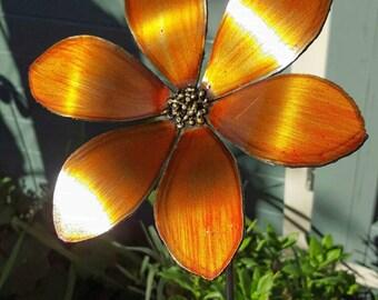 Metal Daisy Flower, Garden Art
