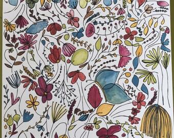 Wildflower Print