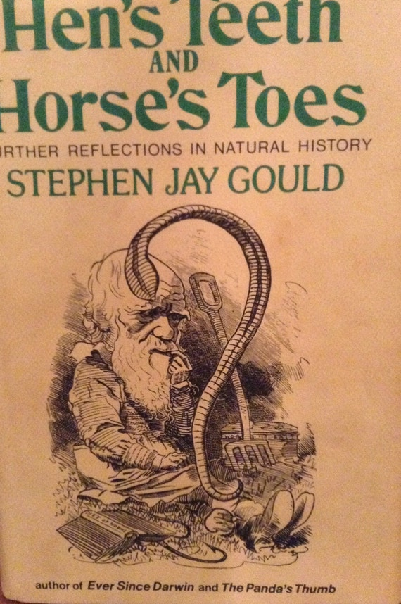 a book report on stephen jay goulds hens teeth and horses toes