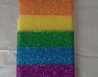 Rainbow Glitter Mobile Phone Case
