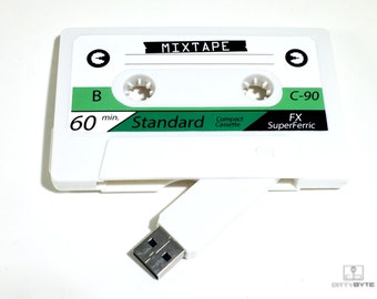 Mixtape Cassette Tape Flash Drive 4/8GB