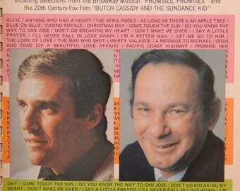 Bacharach & David Golden Songs spiral bound vocal/piano edition