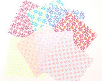 Origami Paper Sheets, 48 Origami Paper Sheets