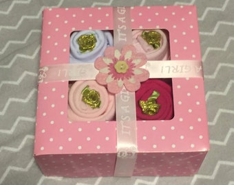 BABY SHOWER GIFT! ~Onesie Cupcakes~