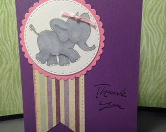 Baby Thank you Elephant Set