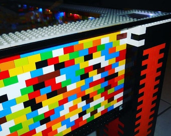 Coffee table in Lego brick
