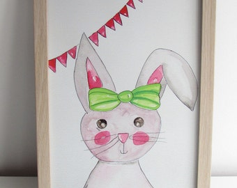 Nursery picture Hare