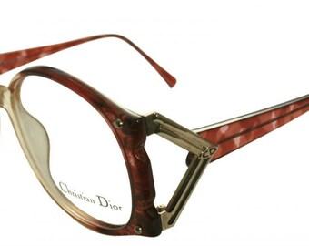 Christian Dior Classic Womens Vintage oversized 80s eyewear 2575