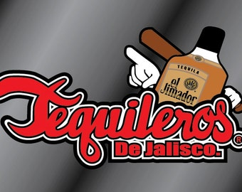 Tequileros Vinyl Decal Sticker