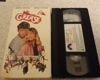 Grease 2 - VHS - Classic Musical Sequel