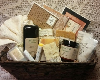 All Natural Skin Care Basket