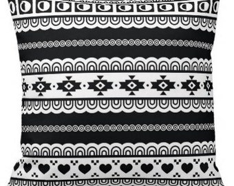 Black and White Cushion Covers - Pillow case