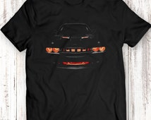 Dodge Challenger R/T Musclecar Auto Racing Car T-shirt 100% Cotton