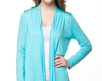 Jade Open Cardigan
