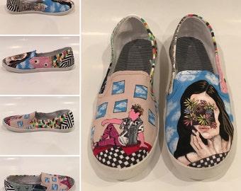 Custom painted sneakers!