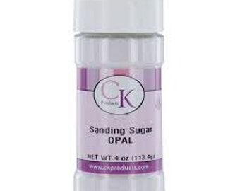 Sanding Sugar Opal - 4 Oz