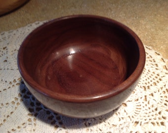 Hand Turned Wooden Bowl