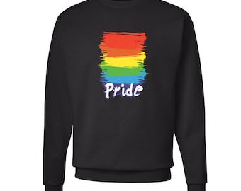 Colorful Pride Sweatshirt Gay LGBT Equal Rights Sweater