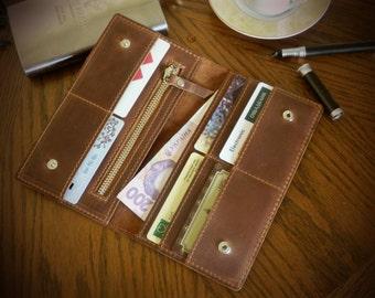 Travel Wallet + Leather Travel Wallet + iPhone Wallet + Coin Wallet + Passport Wallet + Handmade Wallet + Bifold Organizer + Card Holder