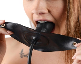 Penis-Shaped Inflatable Gag