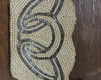 Vintage Sarne of California beaded clutch/evening bag