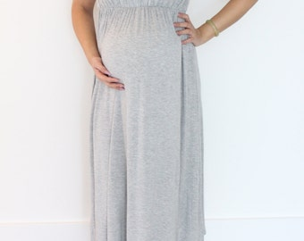 Easy Breezy Maxi Maternity Dress