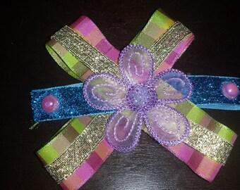 Gorgeous, Colorful Purple Bow