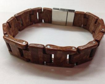 Lacewood wood bracelet