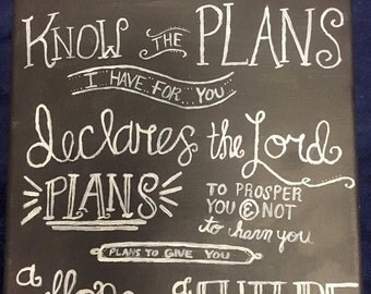 Jeremiah 29:11 Painting