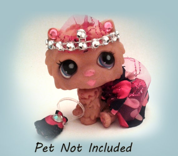 Littlest Pet Shop Clothes And Accessories LPS By