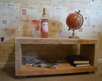 Reclaimed wood Coffee/ side table.