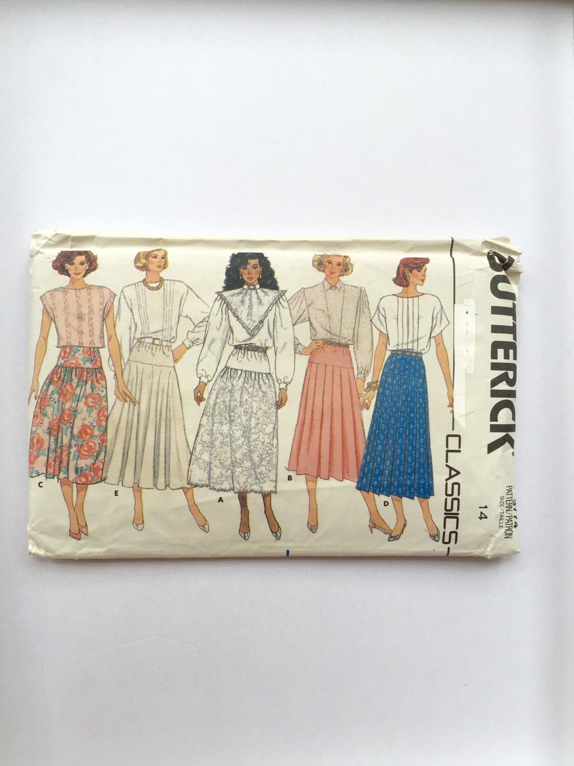 80s skirt sewing pattern 80s maxi skirt pattern