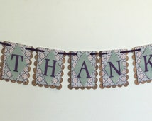 Be Thankful Room or Party Banner