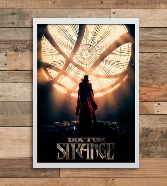Marvel Comics Doctor Strange Print Wall Art Print Home Decor