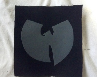 Wu-Tang hand printed patch