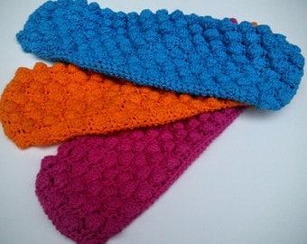 Handmade crochet Swiffer reversible reusable pad