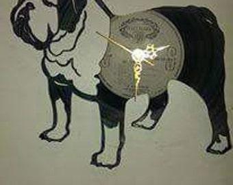 British Bull dog record clock